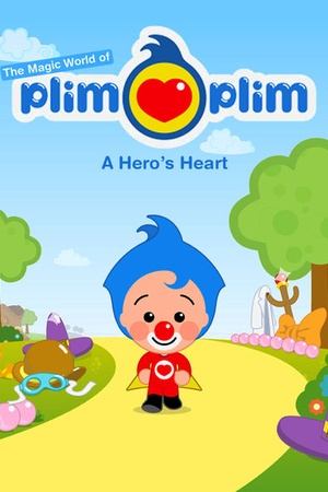 El payaso Plim Plim: Un heroe del corazon in English