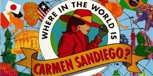 'Where in the World is Carmen Sandiego?' is being rebooted for Netflix
