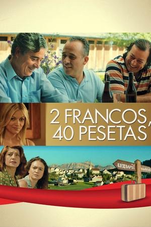 2 Francs, 40 Pesetas