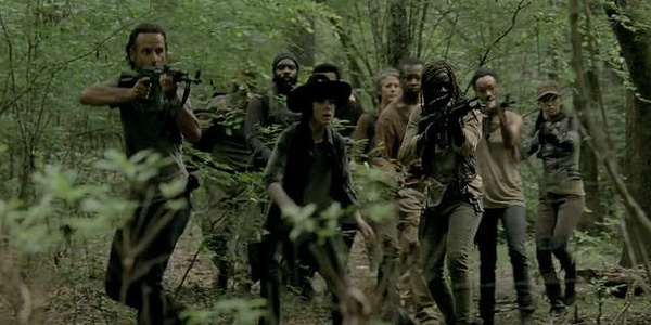Watching 'The Walking Dead' on Netflix